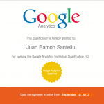 GAIQ, Google Analytics Individual Qualification