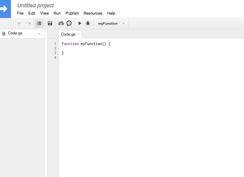 google apps scripts editor Google Apps Scripts: Qué son y como empezar a crear Apps Scripts