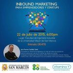 Inbound Marketing para Emprendedores y Startups