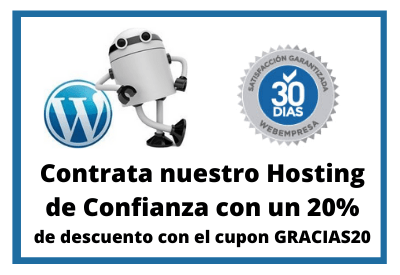 servidores wordpress